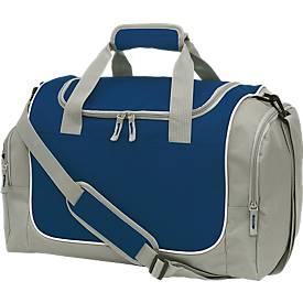 Sporttasche GYM, grau/dunkelblau