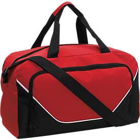 Sporttasche Jordan, rot/schwarz