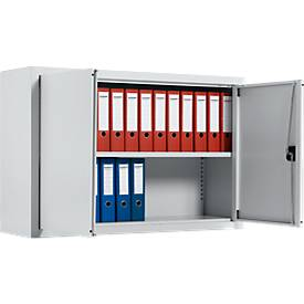 SSI Schäfer Aufsatzschrank, abschließbar, Höhe 800 mm, Breite 800, 950 oder 1200 mm