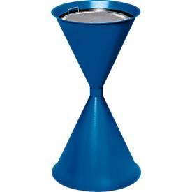 Staande asbak, blauw