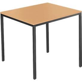 Stahlrohr-Tisch, 800 x 700 mm