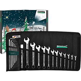 """STAHLWILLE Adventskalender """"Werkzeug"""", Premium-Werkzeugset, 24-tlg. im Adventskoffer"""