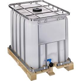 Standard IBC Behälter WERIT, mit Holzpalette
