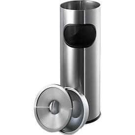Standascher, Edelstahl, ø 190 x H 610 mm