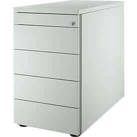 Standcontainer 13333, 5 Schubladen, Kippschlüssel