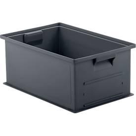 Stapelkasten Serie 14/6 SET, recycelter Kunststoff, verschiedene Größen
