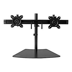 StarTech.com Dual-Monitorhalter - Monitor Halterung für zwei Displays - Aufstellung (einstellbarer Arm)