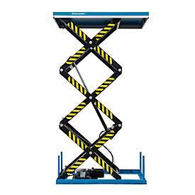 Stationäre Hubtische TRSHT mit Dreifachschere
