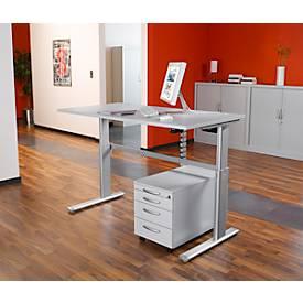 Steh-/Sitztisch Standard, 1200 mm breit