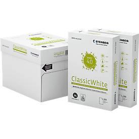Steinbeis Recylingpapier ClassicWhite, A4, 80 g/m², 70er Weiße, 2.500/5.000 Blatt