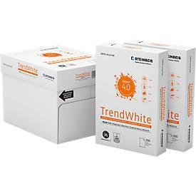 Steinbeis Recylingpapier TrendWhite, A4, 80 g/m², 80er Weiße, 2.500/5.000 Blatt