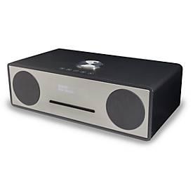 Stereoanlage Soundmaster DAB950CA/DAB950BR, DAB+/UKW, CD/MP3, USB/Bluetooth, 2 x 15 W RMS, Karbon