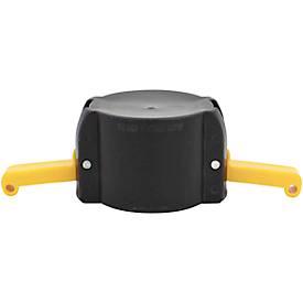 Stofkapje Camlock kan 2 inch worden gebruikt.