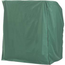 Strandkorbschutzhülle, grün, winterfest, für 2-Sitzer