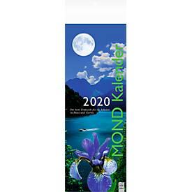 """Streifenkalender """"Mond"""", 155 x 485 mm, deutschspr., mit Haus-/Gartenarbeits-Tipps, Werbefläche"""