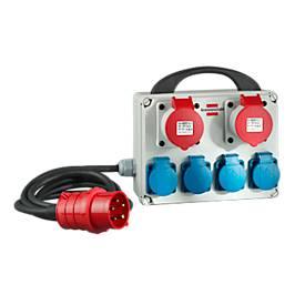 Stromverteiler brennenstuhl® BKV 2/4 T
