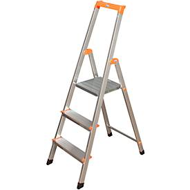 Stufenleiter Solidy, Aluminium
