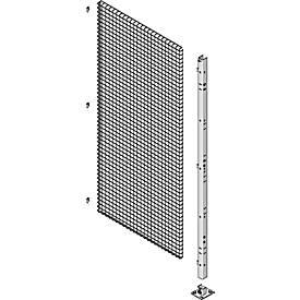 Stütze, H 2193 mm, Montage auf Gitter