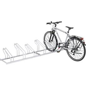 Support à vélos à arceaux, accessible d'un côté, démonté