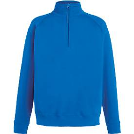 Sweatshirt Lightweight Zip Neck