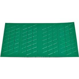 Symbol-Dreieck, 10 x 10 mm, grün