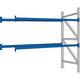 System PR 600 - Komplettregal-Anbaufelder, 2700 mm lang