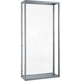 System R 4000 Gitter-Rückwand, für Feldlänge 1283 mm