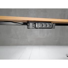 Table de comptoir MODENA, avec corniche