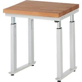 Table de travail Serie adlatus 600, à réglage électrique en hauteur de 740 à 1140 mm