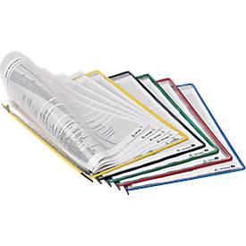 tarifold Sichttafeln DIN A4, grau, 10 Stück