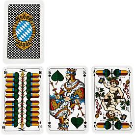 Tarock/Schafkopf-Spielkarten, inkl. blauer Werbeanbringung