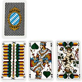 Tarock/Schafkopf-Spielkarten, inkl. einfarbig blauer Werbeanbringung