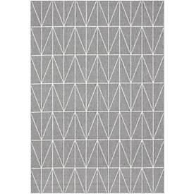 Teppich Fenix, PP, Florhöhe 4 mm, waschbar, B 1200 x T 1700 mm, Modell B
