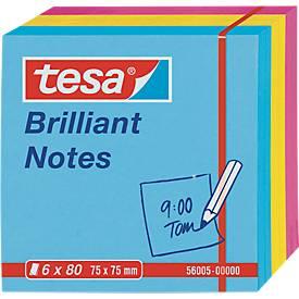 TESA Haftnotizen Notes, farbig