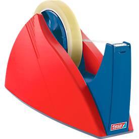 tesa Profi-Tischabroller, rot/blau, f. Rolle 66 m x 25 mm
