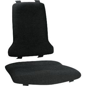 Textilpolstergarnitur für Arbeitsdrehstuhl Sintec