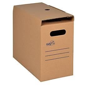 TidyPac® Archivbox, für 25 Hängemappen, Pappe, 5 Stück