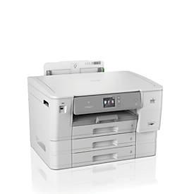 Tintenstrahldrucker Brother HL-J6100DW, Farbe & Schwarzweiß, USB/LAN/WLAN/NFC, Duplex, 20-22 S./m., bis A6