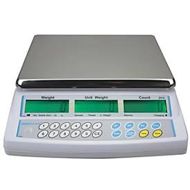 Tisch-Zähl-Waage Serie CBC, mit programmierbarer Displaybeleuchtung, Zähloptimierung, Kapazität 15 kg