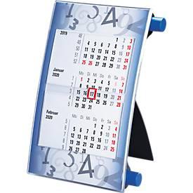 Tischkalender Vision, blau