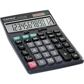 Tischrechner CD-2729-12TN, 12-stelliges Display, viele kaufmännische Funktionen
