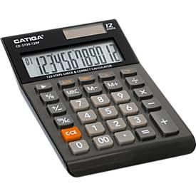 Tischrechner CD-2739-12RP, 12-stelliges LC-Display, Prüf- und Korrekturfunktion