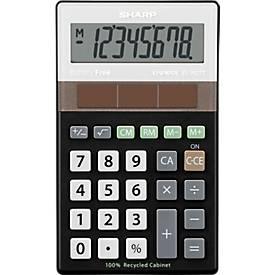 Tischrechner Sharp EL-R277BBK