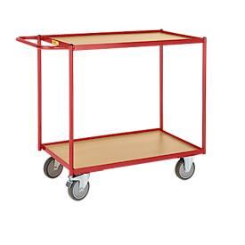 Tischwagen mit 2 Etagen, 990 x 590 mm