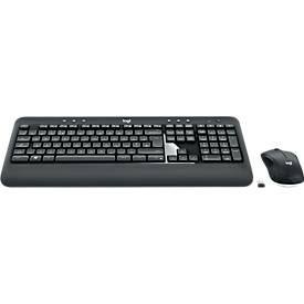Toetsenbord en muistset Logitech MK540 Geavanceerd, draadloos, voor optimaal gebruiksgemak.