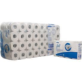 Toiletpapier Scott 350 2-lg wit,4x16 r