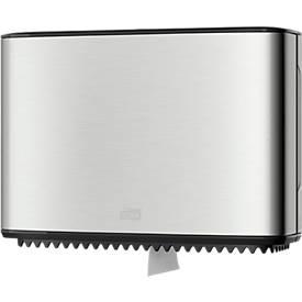Toilettenpapierspender Tork®, für Mini Jumbo Toilettenpapier, mit Restrollenfunktion, abschließbar