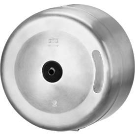 Toilettenpapierspender Tork®, für SmartOne Toilettenpapier, Einzelblattausgabe, mit Sichtfenster, abschließbar