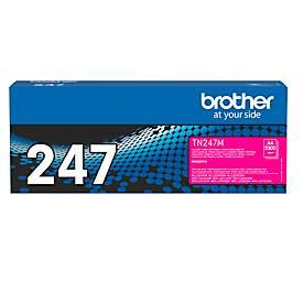 Toner Brother TN-247M, Druckreichweite ca. 2300 Seiten, magenta