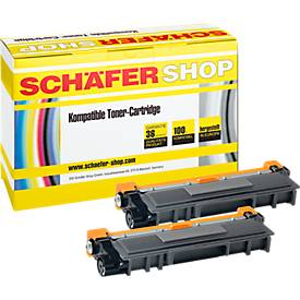 Toner-Doppelpack SSI kompatibel Brother TN-2320